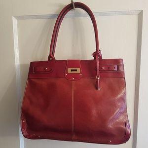 Red Liz Claiborne Shoulder Bag
